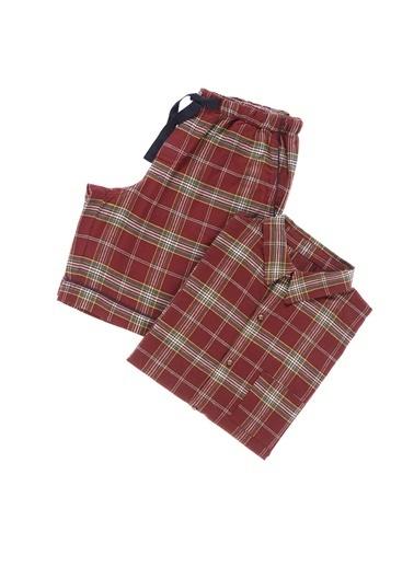 Casual Avenue William Flanel Gömlek Şort Takım Kırmızı